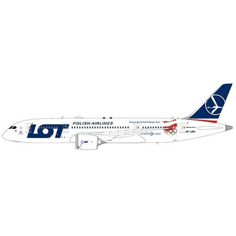 B787-9 Dreamliner LOT Polish Proud to fly Polish Olympic Team SP-LRH 1:200**o/p**