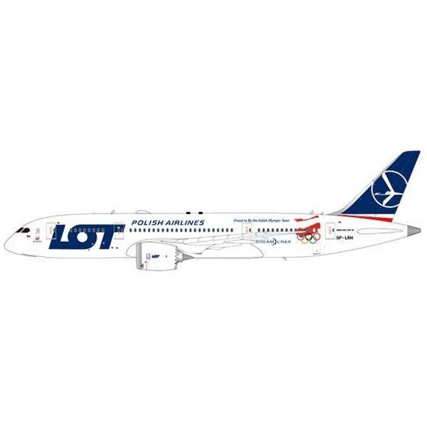 JC Wings B787-9 Dreamliner LOT Polish Proud to fly Polish Olympic Team SP-LRH 1:200**o/p**