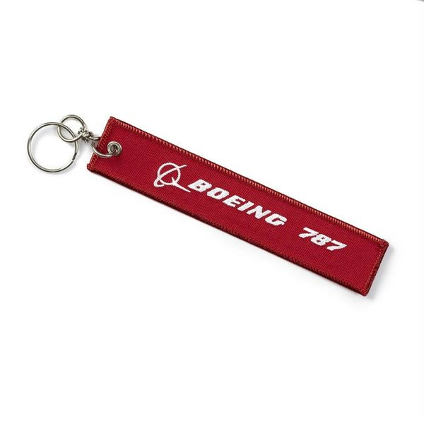 Boeing Store 787 Remove Before Flight Keychain