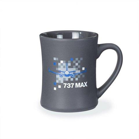 737 MAX Pixel Graphic Mug