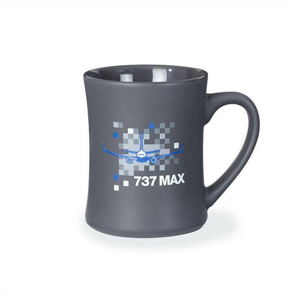 Boeing Store Mug 737 MAX Pixel Graphic