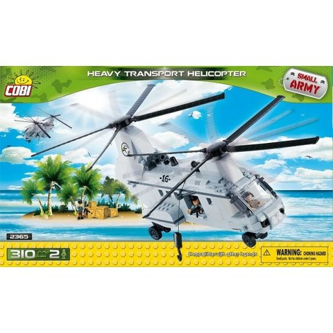 Heavy Transport Helicopter Small Army Cobi 310 pieces