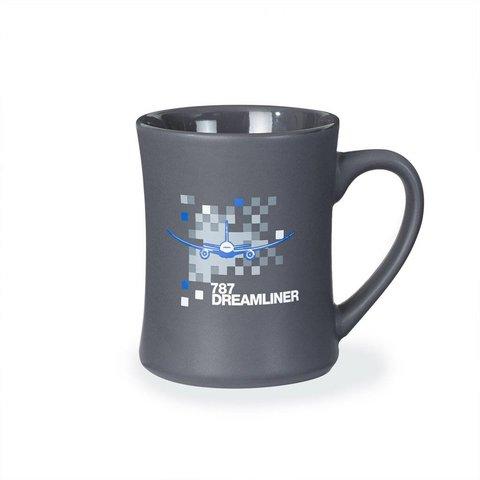 787 Dreamliner Pixel Graphic Mug