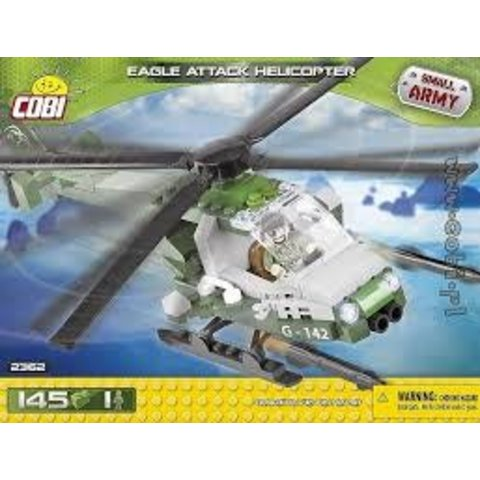 Eagle Attack Helicopter Small Army Cobi (145 pieces)