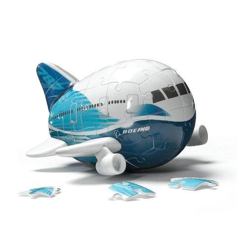 3-D Plane Puzzle