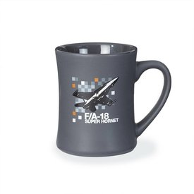Boeing Store Mug F/A-18 Super Hornet Pixel Graphic