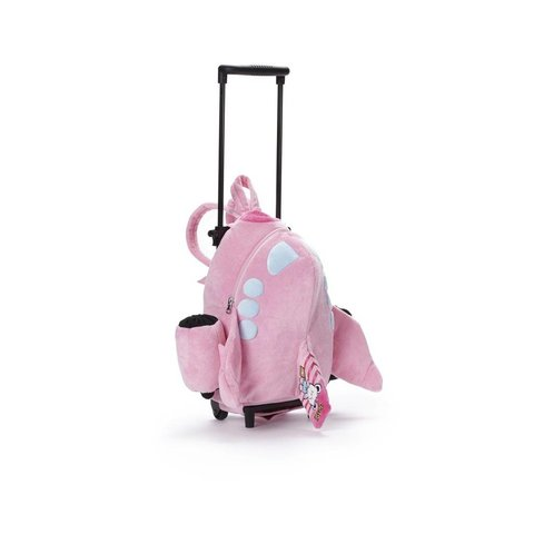 Jetsi Airplane Trolley Bag Pink