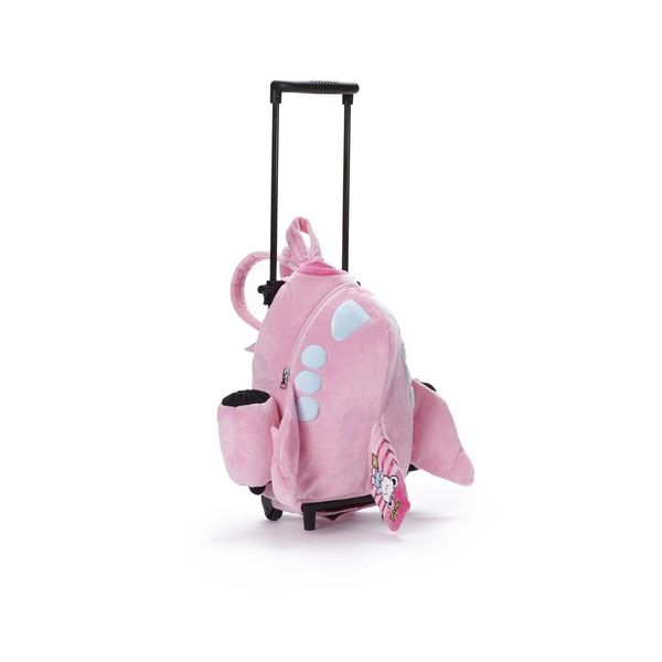 Boeing Store Jetsi Airplane Trolley Bag Pink