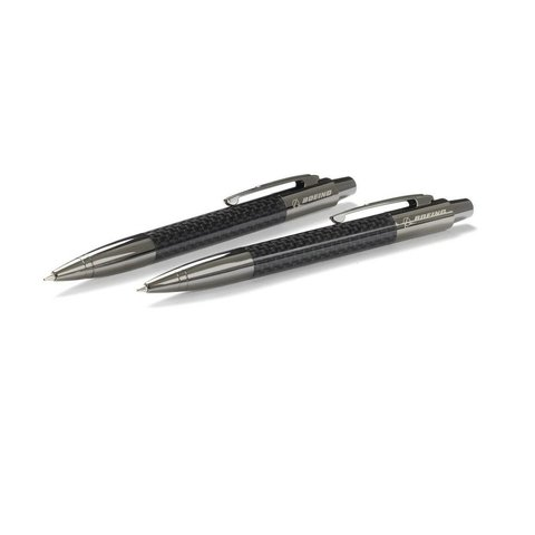 Carbon Fiber Pen and Pencil Set