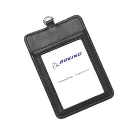 Boeing Store PU Leather Card Holder