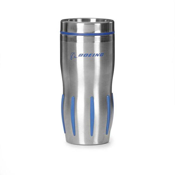 Boeing Store Stainless Steel Grip Tumbler