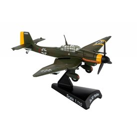 Postage Stamp Models Ju87 Stuka Luftwaffe 1:110 with stand