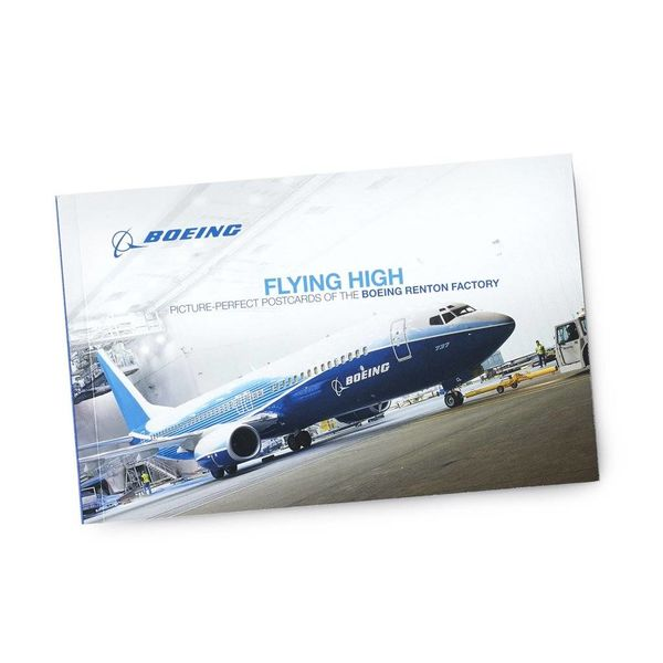 Boeing Store Renton Factory Postcard Book
