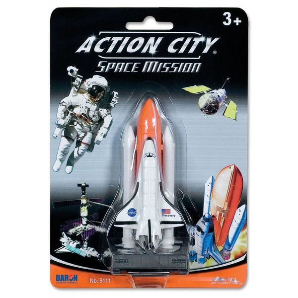 Daron WWT Space Shuttle on Launch Pad Toy