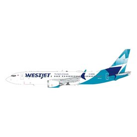 Gemini Jets B737 MAX8 Westjet new livery 2018 C-GZSG 1:200 with stand