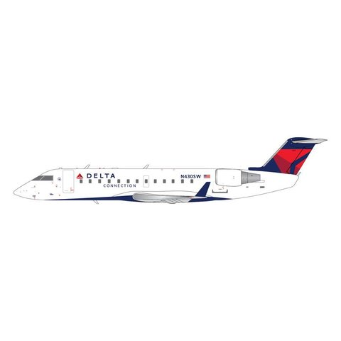CRJ200 Delta Connection N430SW 1:200**New Mould**