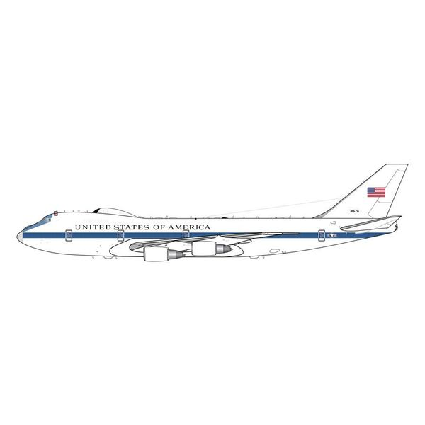 Gemini Jets E4B (B747-200) US Air Force NAOC 73-1676 1:200 with stand