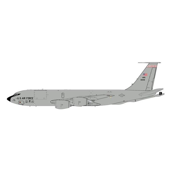 Gemini Jets KC135R USAF Alabama ANG 80106 1:200 with stand