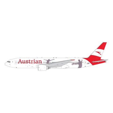 B777-200ER Austrian 60th Anniversary new livery 2018 OE-LPF 1:400