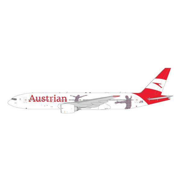 Gemini Jets B777-200ER Austrian 60th Anniversary new livery 2018 OE-LPF 1:400