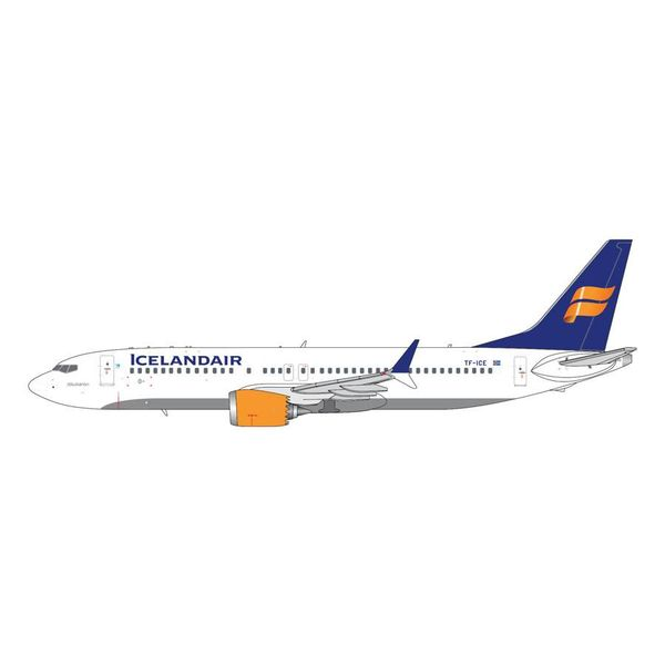 Gemini Jets B737 MAX8 Icelandair New Livery TF-ICE 1:400