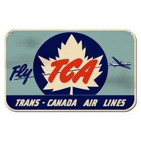 TCA Metal Sign