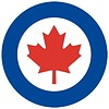 RCAF Roundel Sticker