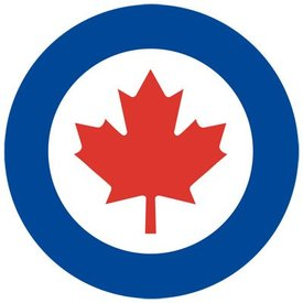 avworld.ca RCAF Roundel Sticker