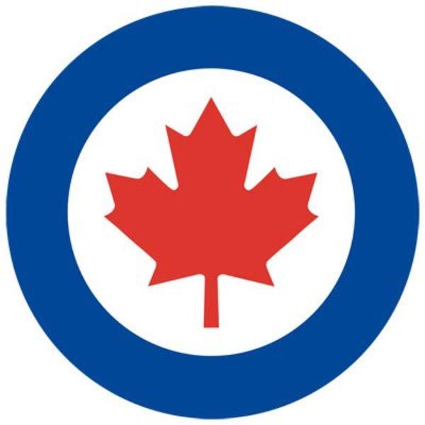 avworld.ca RCAF Roundel Sticker