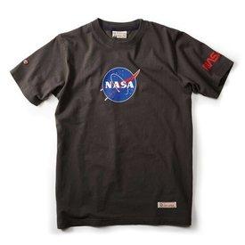 Red Canoe Brands NASA Logo T-shirt Slate Black