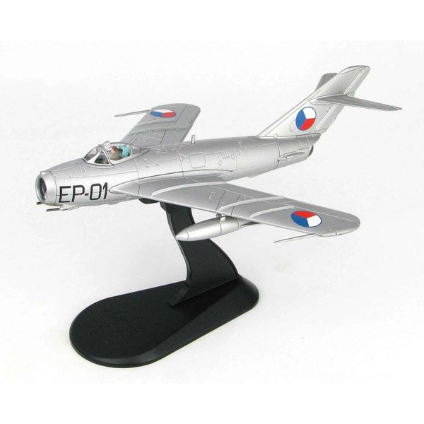 Hobby Master MiG17F Fresco C MGen.Kukel Czechoslovak Air Force EP-01 1957 1:72 with stand