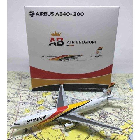 A340-300 Air Belgium OO-ABA 1:400