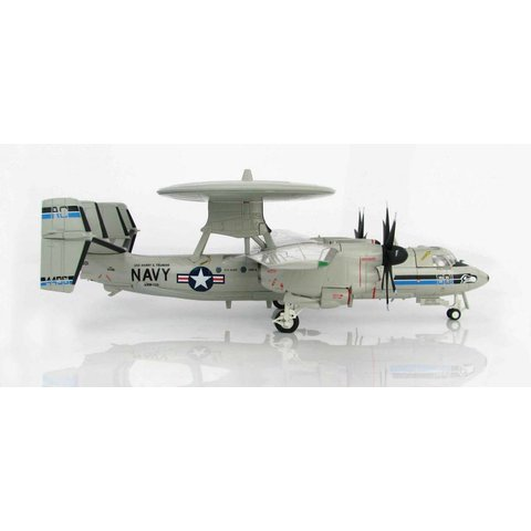 E2C Hawkeye VAW126 Seahawks AC-601 USS Harry S. Truman May 2011 1:72 with stand
