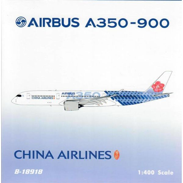 Phoenix A350-900 China Airlines Carbon Fibre Livery B-18918 1:400