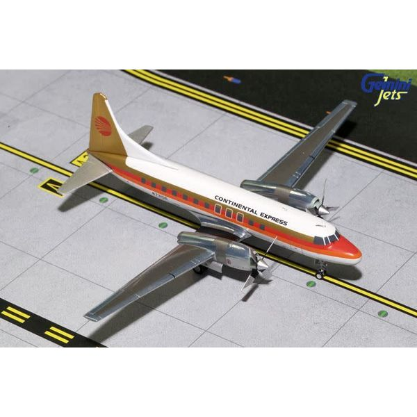 Gemini Jets CV580 Continental Express Red Meatball N73106 1:200