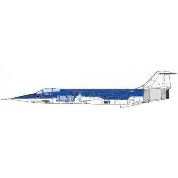 JC Wings CF104A Starfighter Starfighters Aerospace Aerobatic Team 2012 1:72 (no stand)