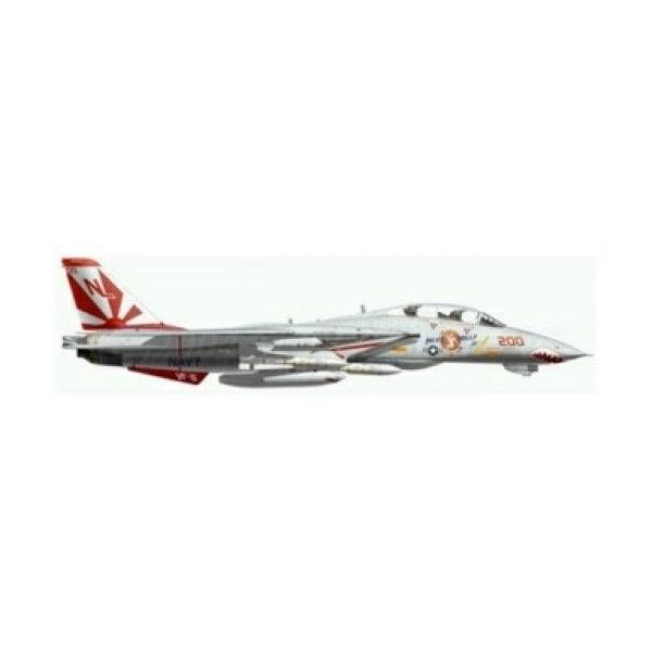 JC Wings F14A Tomcat VF-111 Sundowners Miss Molly USS Carl Vinson CVN70 NL-200 1989 1:144 with stand