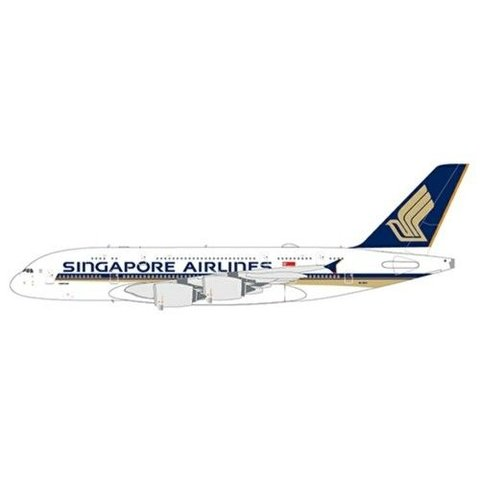 A380-800 Singapore 9V-SKV 1:400 with antennae