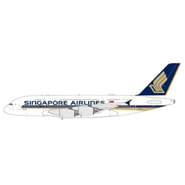 JC Wings A380-800 Singapore 9V-SKV 1:400 with antennae
