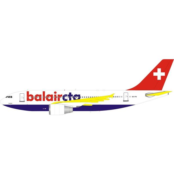 InFlight A310-300 balaircta HB-IPN 1:200 with stand