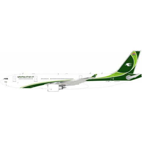 A330-200 Iraqi Airways 2012 livery YI-AQY 1:200 with stand