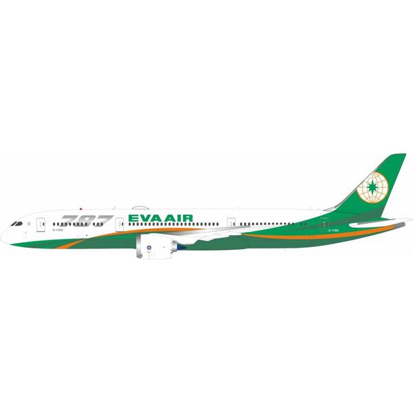 InFlight B787-9 Dreamliner EVA Air B-17881 1:200 with stand
