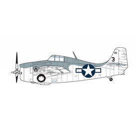 Hobby Master F4F4 Wildcat VC12 23 USS Core 1944 1:48 with stand