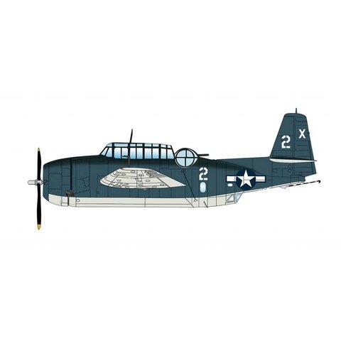 TMF1C Avenger VT-51 2-X Barbara III Lt.George Bush USS San Jacinto 1944 1:72 with stand