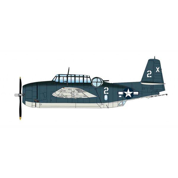Hobby Master TMF1C Avenger VT-51 2-X Barbara III Lt.George Bush USS San Jacinto 1944 1:72 with stand