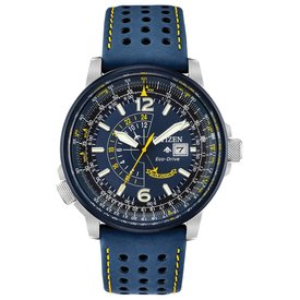 Citizen Promaster Blue Angels Nighthawk Leather Band