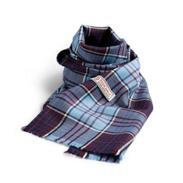 Red Canoe Brands RCAF Scarf Merino Wool Tartan 12″ x 58″