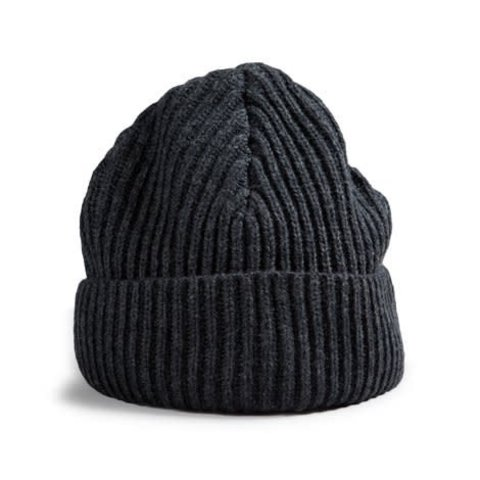 Wool Toque Charcoal Grey