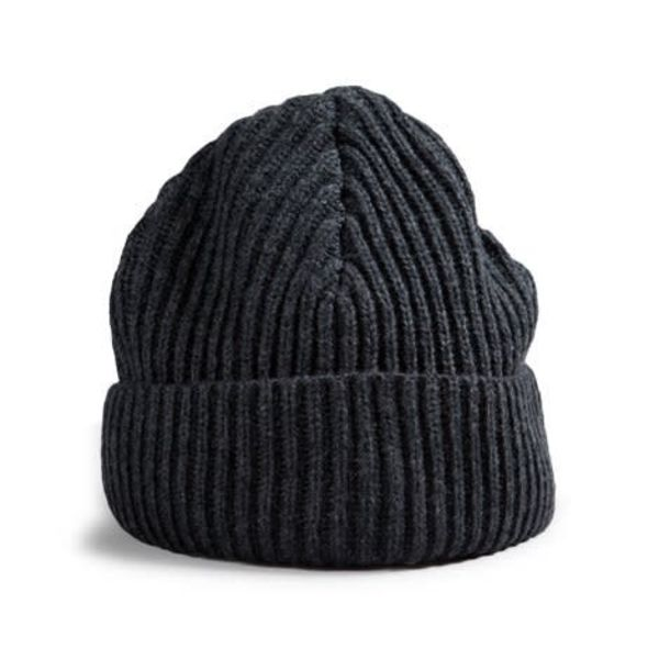Red Canoe Brands Wool Touque Charcoal Grey
