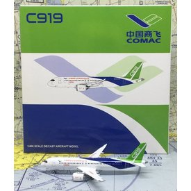 JC Wings C919 COMAC House Livery B-001A 1:400 ++SALE++